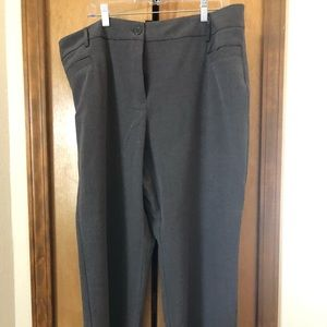 Brand new dark grey dress pants